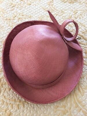 Little Vintage Child Girls Hat circa 1950 - 1960 genuine item antique hat