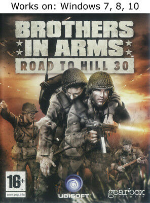Brothers in Arms Road to Hill 30 PC Game Windows 7 8 10