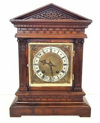 A Winterhalder And Hoffmeier Bracket Clock