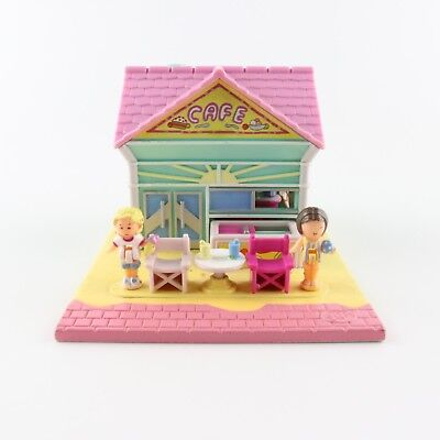 POLLY POCKET 1993 Beach Cafe *COMPLETE*