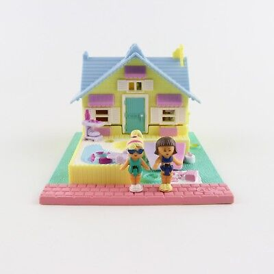 POLLY POCKET 1993 Summer House *COMPLETE*