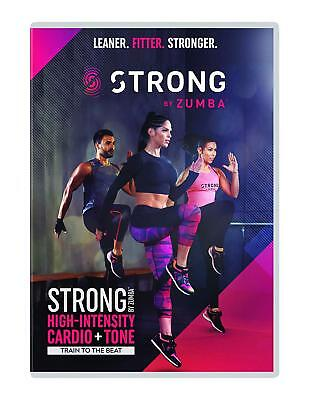STRONG by Zumba - Exercise, Fitness,  BRAND NEW DVD