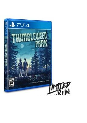 Thimbleweed Park  PS4 SEALED Limited Run