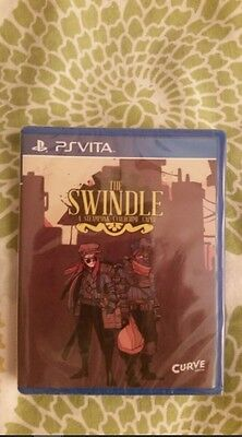 The swindle  ps vita nuevo new limited run playstation