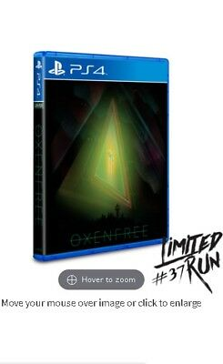 Oxenfree  ps4 playstation Nuevo SEALED  Limited Run