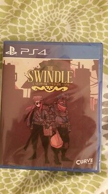 The swindle  ps4 nuevo new limited run playstation