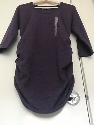 2x {Pink Rose} Red And Purple 3/4 Maternity Sweater Size XL