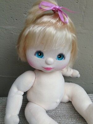 My Child Doll ~ US Blonde Top Knot ~ Details and Pics Added ~ Nappy/Hair Ribbon