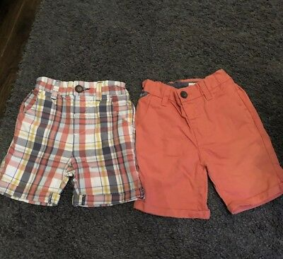 Boys Next Shorts 1&1/2-2 Years 18-24 Months