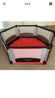 Valco 6-Sided Play Yard / Pen with Mat