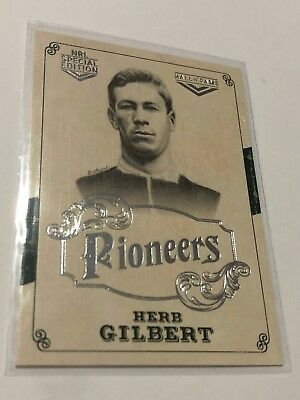2018 NRL Glory Pioneers Insert Card - Herb Gilbert - Hall Of Fame - PS 14