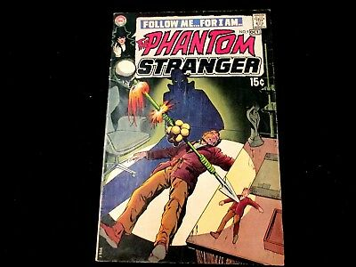 "Phantom Stranger #9 - ""Aparo Art!  Nice Bronze Age Book!"