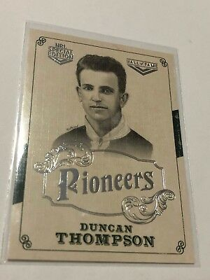 2018 NRL Glory Pioneers Insert Card - Duncan Thompson - Hall Of Fame - PS 17