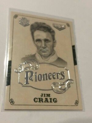 2018 NRL Glory Pioneers Insert Card - Jim Craig - Hall Of Fame - PS 18