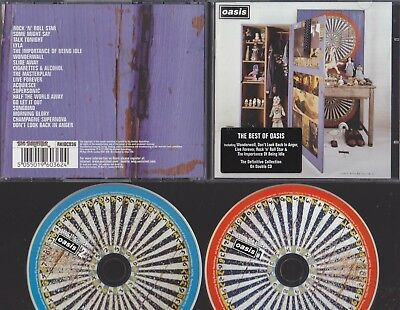Oasis : Double Cd Album Set : Stop The Clocks : The Best Of Oasis : Like New