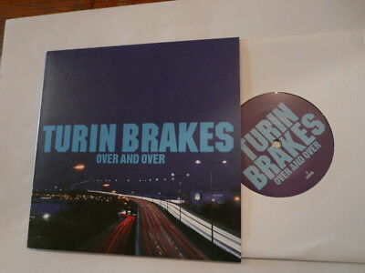 """TURIN BRAKES Over And Over - 7"""" Single - Source SOUR114 - New!"""