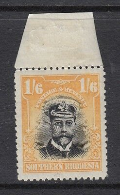 SOUTHERN RHODESIA-1924-9 1/6 Black & Yellow Sg11 - Unmounted mint