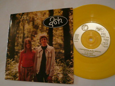 """ASH Oh Yeah - 7"""" Single - Yellow Vinyl INFECT41S - New!"""