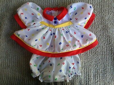 My Child Doll Clothes ~ Original ABC Dress & Panties ~ Great Condition ~ BIN