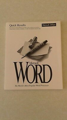 Computer User Manual / Guide for Microsoft Word Version 6.0
