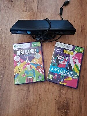 Xbox 360 kinnect, just dance 3 and just dance 2015