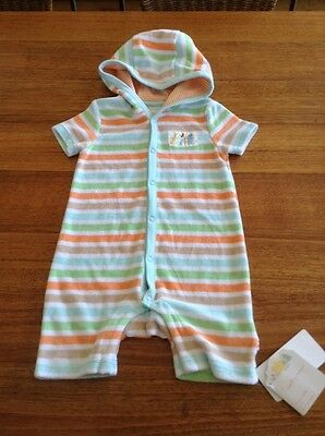 Baby toweling jumpsuit For After Swimming - BNWT - 9-12 months