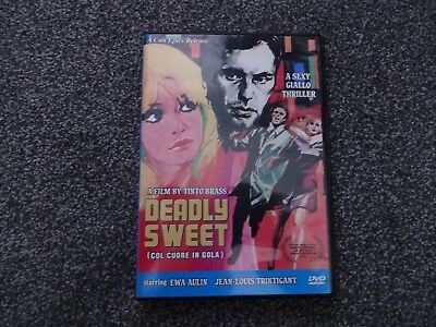 Deadly Sweet 1967 Tinto Brass Giallo Cult Epics Region 0 Ntsc Dvd.