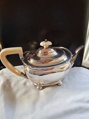 Solid Silver Teapot