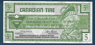 Canadian Tire Co. Ltd. 5 Cents, VF+