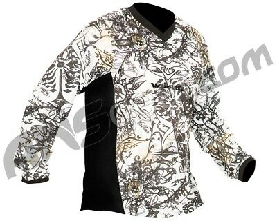 Paintball Valken crusade whiteout jersey (L)