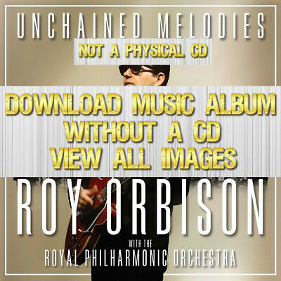 Roy Orbison & The Royal Philharmonic Orchestra Rock 2018 cd 2019