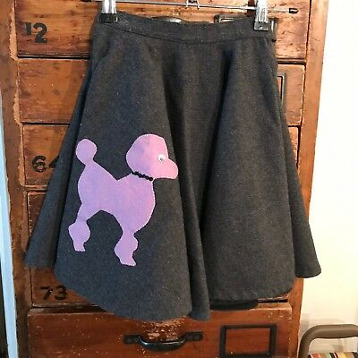 Vintage 1950's Child's Poodle Skirt