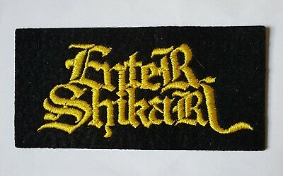 1 X New Old Stock  Enter  Shikari Patch From Appx  2004 / 6.