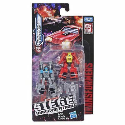 Transformers Generations Siege Micromaster Roadhandler Swindler Two-Pack Figure