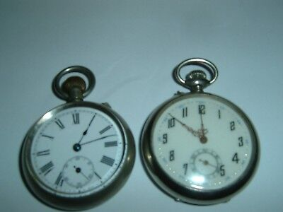 Job Lot of Antique Pocket Watches for Spare or Repair
