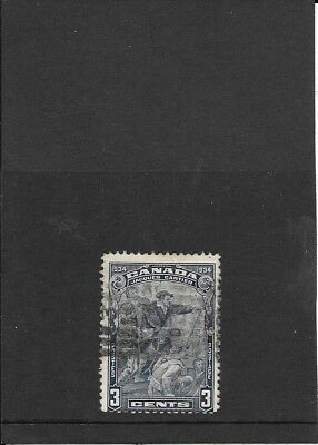 Canada: 1934 Fourth Centenary of Discovery 3c Stamp