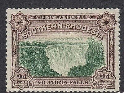 King George V - Southern. Rhodesia - SG35a - 2d Green/Chocolate -  M/MINT