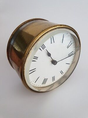 Vintage  Clock movement  For Restoration, Spares or Repair