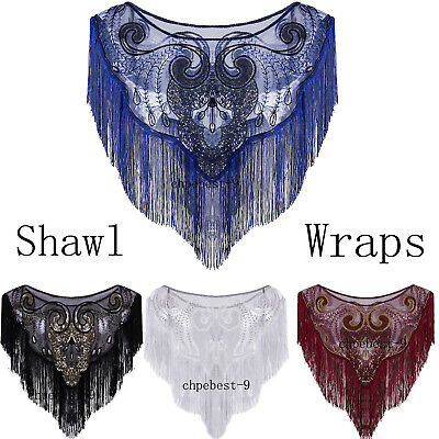 Vintage Style Evening Shawls Wraps Cape Up Jacket Poncho Scarves Womens Scarfs
