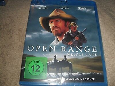 Open Range (2003) Kevin Costner Hard To Find Region B (READ DETAILS) NEW Blu-ray