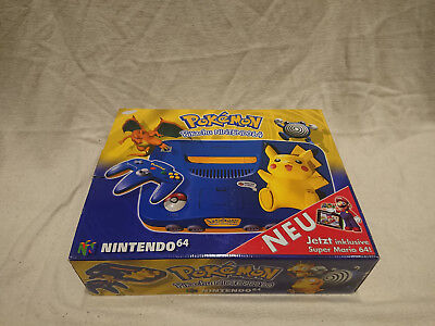 Nintendo 64 Pikachu Pokemon in OVP - N64 Console Limited Edition Pack