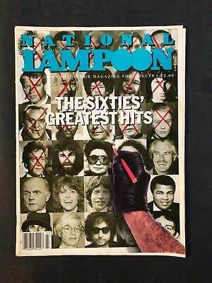 National Lampoon Magazine March 1984 The Sixties Greatest Hits  No ML
