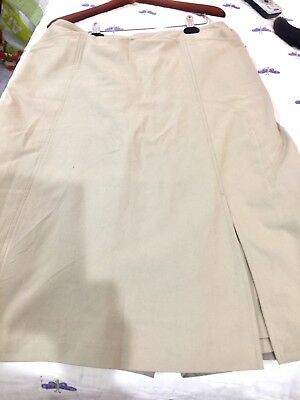 """Ladies """"Dressing for His Glory """"size 22 Tall khaki skort with pockets in front"""