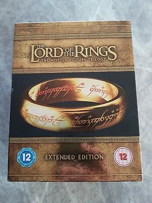 Lord of The Rings Trilogy 15 Discs Extended Edition Blu Ray Boxset