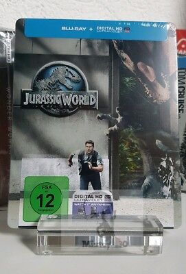 Jurassic World (Park) - Limited exclusive Blu ray Steelbook Edition uncut NEW