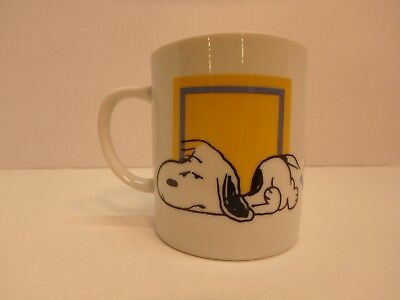 Snoopy Coffee Cup Peanuts