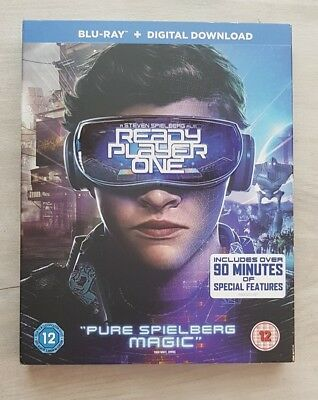 Ready Player One (BluRay) LIKE NEW