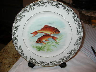 """haviland china limoge 10 1/8"""" fish plate made in france"""