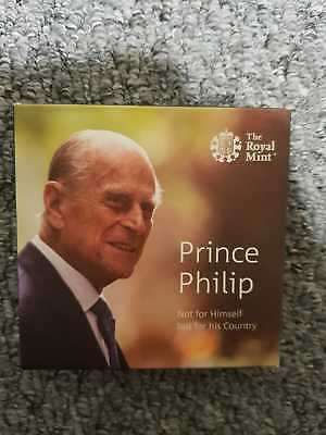 2017 Prince Philip Life Of Service UK £5 Silver Proof Coin
