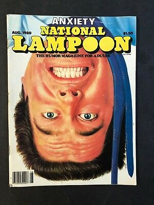 National Lampoon Magazine August 1980 Anxiety No ML